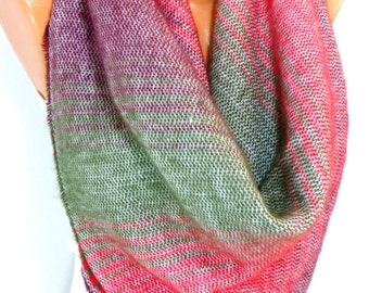Blanket Scarf Plaid, Wool Blanket Scarf, Winter Scarf, Blanket Shawl, Tartan Scarf, Fashion Accessories for Women for Winter, for Christmas