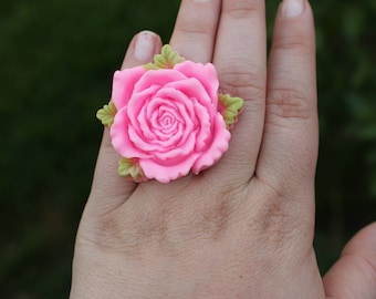 Rose Kawaii Ring