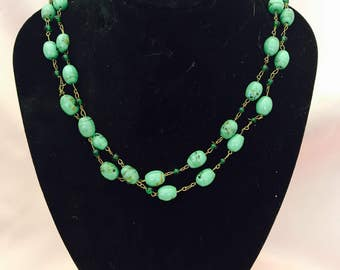 Vintahe Jade Necklace