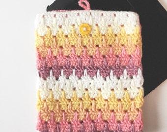 Larksfoot crochet tablet ipad Case by Olivesandpickles