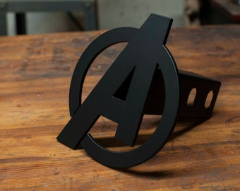 Avengers Trailer Hitch Cover - Blacked Out