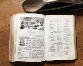 Mrs Beaton Cookery Book, Mrs Beatons All About Cooking, Vintage Cookery Book