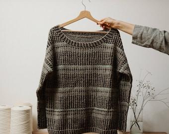 Biches & Bûches no. 5, knitting kit, sweater