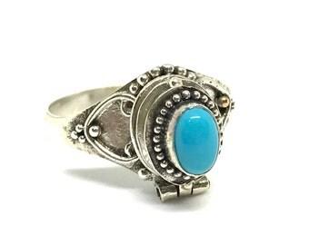 HATI Bali Design 925 Silver Poison Ring