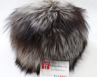 Real Fox Fur Hat,Russian fur hat F521