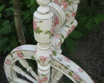 spinning wheel. spinning wheel ready. spinning wheel on order.handmade.  restoration.