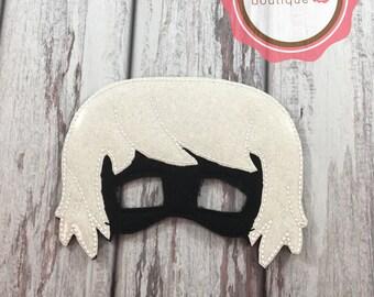 Luna Girl Mask, felt Mask, PJ masks, Villain Mask, Party Favor,