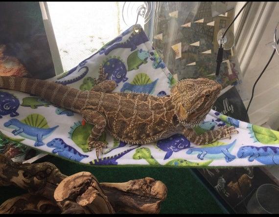 like this item  bearded dragon hammock reptile hammock  rh   etsy