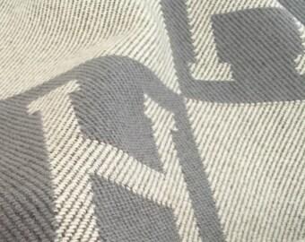 Luxury Wool & Cashmere H Blanket