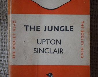 The Jungle. Upton Sinclair. A Vintage Orange Penguin Book 49. 1936