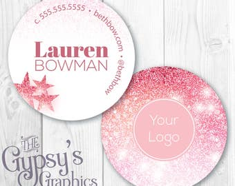 Custom Business Cards, Glitter Love, Circular Calling Cards, Direct Marketing Cards,Direct Marketing,Calling Cards,Business Material