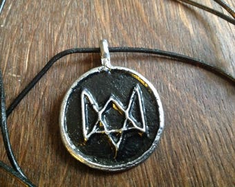Watch Dogs amulet, pendant, necklace