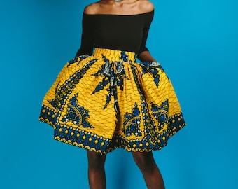 TIFE MINI skirt (yellow)