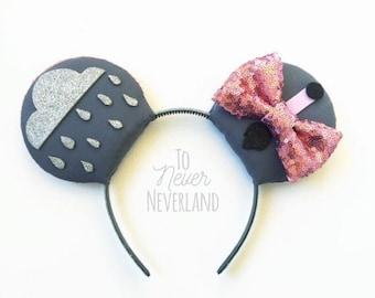 Eeyore Ears, Eeyore Mickey Ears, Winnie the Pooh Ears, Eeyore Mickey Mouse Ears, Disney Inspired Winnie the Pooh Ears, PRE ORDER 2-3 Weeks