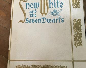 1938 walt disney snow white and the seven dwarfs castile soap