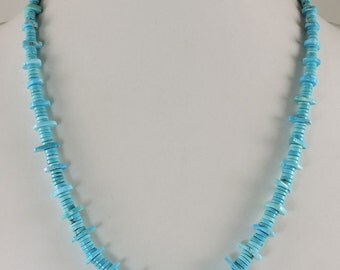 Sleeping Beauty Turquoise Necklace by Piki Wadsworth