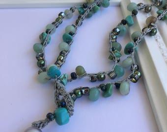 Tranquility Gemstone Necklace