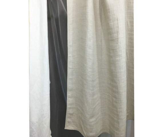 Chevron Curtains In Natural Linen Linen Curtain Panels Fully