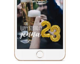 Snap Chat Filters, Snapchat Filter, Custom Snapchat Filters, Snapchat Geofilters, Snapchat Birthday Filter, Birthday Filter