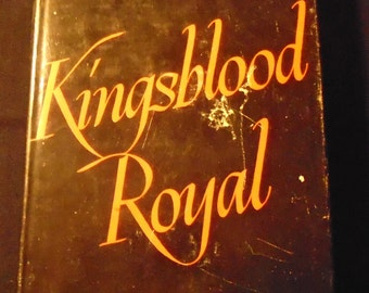 Kingsblood Royal Sinclair Lewis Vintage 1940s Fiction Novel Hardcover Book with Dust Jacket 1947 Collectible
