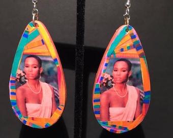 Whitney Houston Earrings