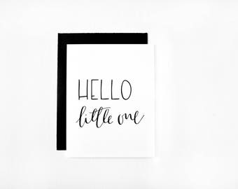 Hello Little One | Greeting Card