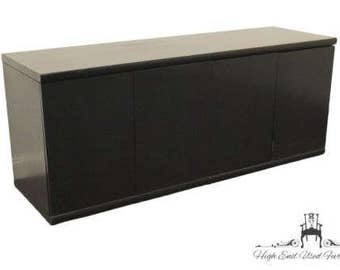 KIMBALL INTERNATIONAL 72″ Black Credenza Cabinet 60-2236