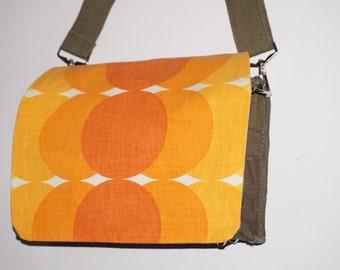 Messenger canvas shoulder bag shoulder bag shoulder bag fabric fabric vintage 70 s