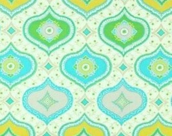 Kumari Garden Chandra Blue Dena Designs -  cotton quilting fabric by the yard