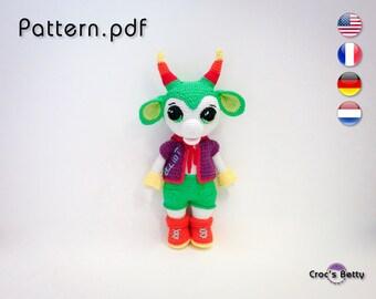 Pattern - Elliot the Baby Monster