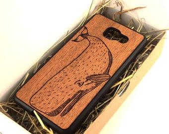 Real Wood Mahogany Samsung Galaxy A3/A5/A7 (2015/2016/2017) case | Galaxy A3 A5 A7 wooden case