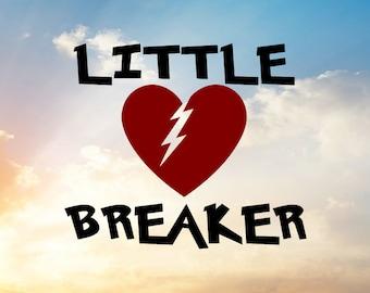 Heart Breaker SVG for Little Heart Breaker Shirt or Valentine Shirt for boy. Valentine Svg, Heart Svg, Broken Heart Svg