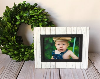 Rustic Picture Frame - Farmhouse Decor - Picture Frame - Rustic Home Decor - Wood Picture Frame - Wall Decor - Wood Frame - 4x6 Frame