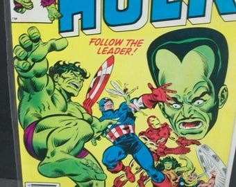 Vintage 1982 The Incredible Hulk No. 284 Hulk, Guest The Mighty Avengers, Iron Man She Hulk VG-VF  Condition  Vintage Marvel  Comic Book