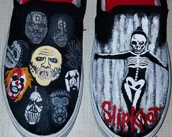 Slipknot Hand Painted Sneakers