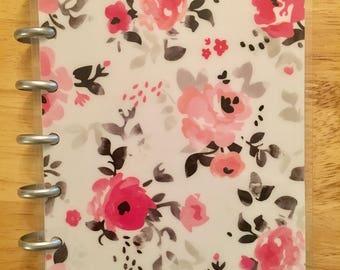 Reversible mini happy planner cover set