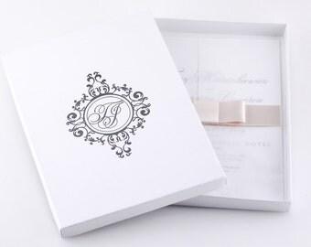 Marquess Boxed Invitation