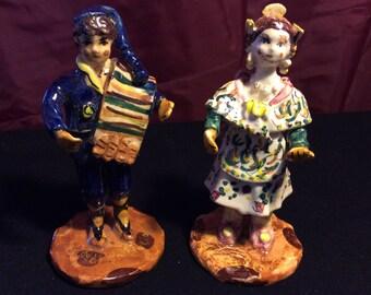 Ceramic Spanish Figurines