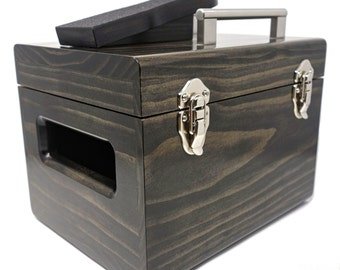 Executive Shoe Shine Box // Ebony