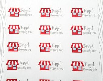 Target Shopping Trip Markers (Set of 24) Item #473