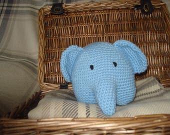 Crochet Elephant Toy