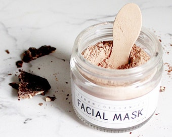 FACIAL MASK // Raw Cacao Mask - - - Vegan ∙ Organic ∙ 100% Natural