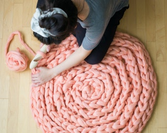 Extreme Crocheted Rug Pattern