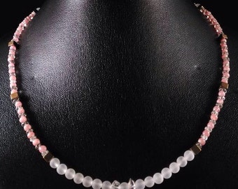 Necklace rhodochrosite