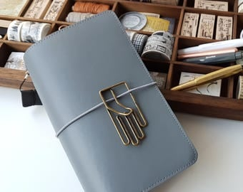 Regular! Journal! Notebook! TN gray