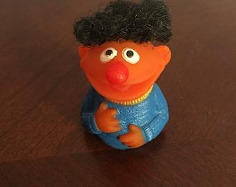 Ernie Finger Puppet Vintage Sesame Street -1970 RARE