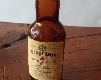 Seagrams 7 with Maryland Liquor Tax Stamp