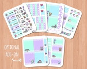 Sticker Addict PLANNER KIT (4 SHEETS) + optional add-on (2 sheets)