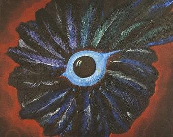 Morrigan Mandala ( Goddess, Raven) Art Print