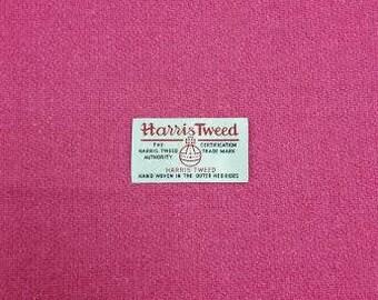 Harris Tweed Pink 76cm wide